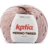 Merino Tweed 312 Rosa Claro