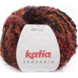 Tanzania 101 Naranja-Lila-Rojo