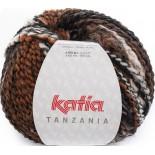 Tanzania 102 Naranja-Blanco-Negro