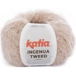 Ingenua Tweed 102 - Rosa Claro/Burdeos