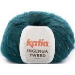 Ingenua Tweed 108 - Azul Verdoso/Camel
