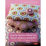 Granny squares modernos. Nuevas formas de ganchillo.