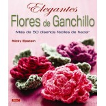 Elegantes Flores de Ganchillo